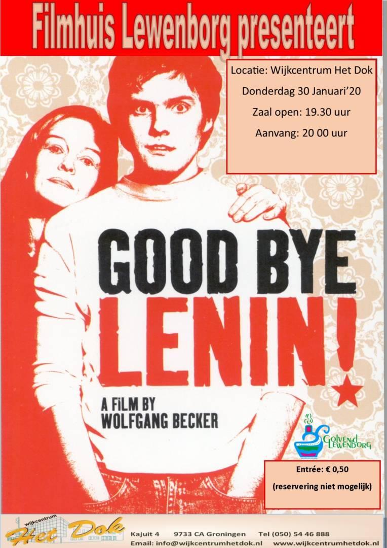 Filmhuis Lewenborg presenteert GoodByeLenin!