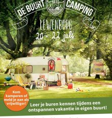 Buurtcamping in Lewenborg 2018